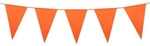 "0118871 - Mutual Industries Orange Pennant Flag 9"" x 12"" x 60'"