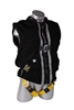 02620 - Guardian Black Mesh Construction Tux