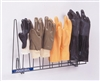 2054-STNLS - Horizon Mfg. Stainless Steel 4 Pair Glove Rack