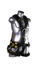 21082 - Guardian Cyclone Tower Harness w/ Chest Quick-Connect Buckle, Leg Quick-Connect Buckles, & Waist Combination Buckle