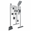"4091 - Horizon Mfg. Stainless Steel 36"" Utility/Sanitation Rack"