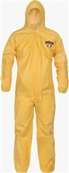 5428 - Sunrise ChemMax 1 Yellow Tyvek Coverall