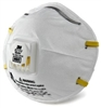 8210 N95 Particulate Respirator With Valve