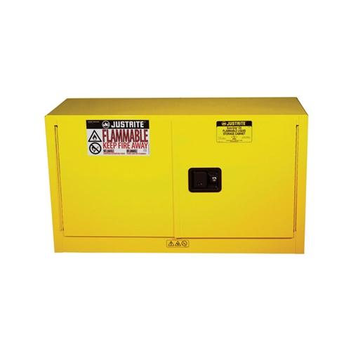 891720 Justrite 17 Gallon Yellow Piggyback Safety