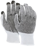 9660S - MCR Safety 7 Gauge Two-sided PVC Dot Glove