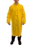 "C56207 - Tingley Durascrim Yellow Coat 48"" with Hood Snaps"