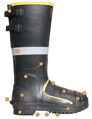 Mb816b Tingley 16 Quot Black Metatarsal Boot