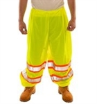 P70032 - Tingley Fluorescent Yellow-Green Elastic Waist Pants
