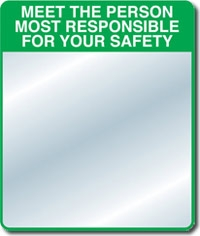 Sm301 Se Kure Controls Safety Slogan Mirror