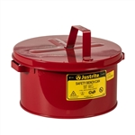 10575 - Justrite 2 Gallon Bench Can
