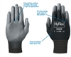 11-600 - R3 Safety Hyflex Lite Black Poly Glove