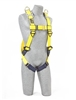 1101781 - 3M Delta Vest Style Harnesses with Back & Shoulder D-Rings & Pass Through Legs