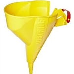 11202Y - Justrite Durable Polyethylene Funnel