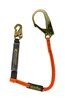 11902 - Guardian Tiger Tail Stretch Lanyard - Single Leg w/ Rebar Hook