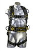21033 - Guardian Cyclone Construction Harness w/ Chest Quick-Connect Buckle, Leg Quick-Connect Buckles, & Waist Tongue Buckle