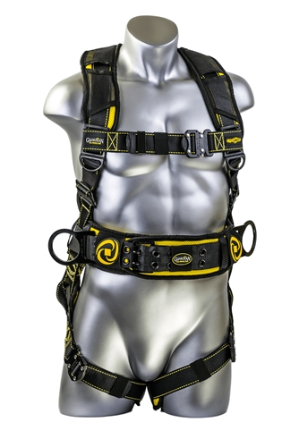 21034 Guardian Cyclone Construction Harness W Chest