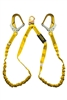 21215 - Guardian Internal Shock Lanyard - Double Leg w/ High Strength Aluminum Rebar Hooks