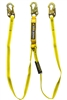 21302 - Guardian Big Boss Extended Free Fall Lanyard - Double Leg w/ High Strength Snap Hooks & 12' Shock Pack