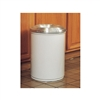 26630W - Justrite 30 Gallon Cease-Fire Waste Receptacle - White