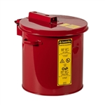 27602 - Justrite 2 Gallon Red Steel Dip Tank