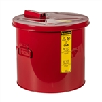 27605 - Justrite 5 Gallon Red Steel Dip Tank