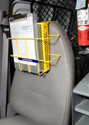 3006 - Horizon Mfg. Over-The-Seat MSDS Binder/Clipboard Rack