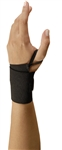 311L - OccuNomix Wrist Aid (Black) with Thumb Loop