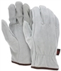 Split Leather Drivers Glove, Regular Grade Straight Thumb - LG