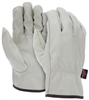 3211 - MCR Safety Drivers Glove, Keystone Thumb Shirred Elastic Back Select Grade - 2XL