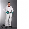3702 - PIP PosiWear® Ultimate Barrier White Coverall with Elastic Wrists and Ankles - 5XL