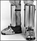 400-5 - Ellwood Safety Men's Aluminum Alloy Shin-Foot Guard Consisting of # 200X-6 Foot and Shin Guard