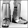 401-5.5 - Ellwood Safety Men's Aluminum Alloy Shin-Foot guard w/ # 200-5 Foot and Shin Guard w/ Side Shields - 5 1/2""