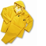 4035 - West Chester Yellow 35ml PVC over Polyester 3pcs Rainsuit
