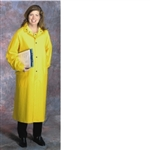 "4148 - PIP Yellow 35mil PVC Polyester 48"" Raincoat"
