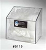 5119 - Horizon Mfg. Hair Net / Beard Cover / Shoe Cover Dispenser with Clear Lid