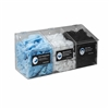 5123 - Horizon Mfg. Clear Plastic Hair Net, Beard Cover, Shoe Cover, Arm Sleeve 3 Compartment Dispenser
