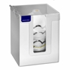 5156-W - Horizon Mfg. Heavy-Duty White Plastic Dust Mask Dispenser Tall