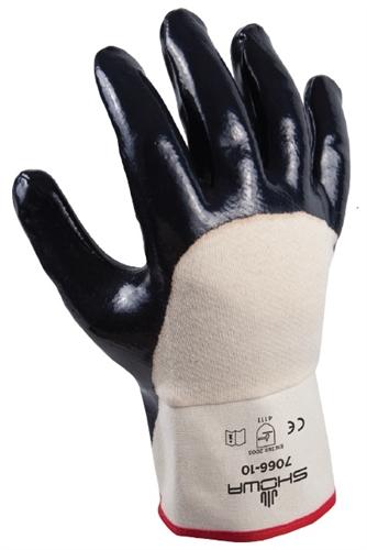 7066 Best Glove Nitri Pro Palm Coated Nitrile Glove