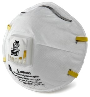 Valve Respirator 8210 Particulate - 3m 8210v N95 With
