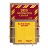 "8553 - Horizon Mfg. 1.5"" Eco-Friendly Binder English SDS Center"