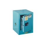 890402 - Justrite 4 Gallon Steel Sure-Grip EX Countertop Cabinet for Corrosives - Blue