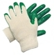 MCR Safety 9681L Green Latex Coated Glove