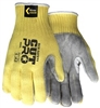 9686 - MCR Safety 100% Kevlar® Brand Fiber Shell Leather Palm Glove - SM