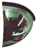 "AV12Q - Brossard 6"" All-Vu Quarter Dome Acrylic Lens/Hardboard Back Mirror"
