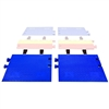 CPRP-4/5-BLU- Checkers® Cross-Guard® ADA Ramps for Linebacker® CP5X125 & CP4X125 Cable Protectors