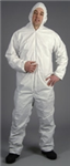 CTL428 - Lakeland MicroMax NS Coveralls with Hood and Elastic Wrists and Ankles - LG