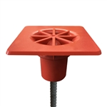 DISC-10 - Deslauriers Impalement Safety Rebar Protector Cover