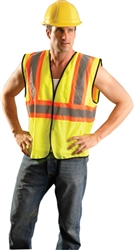 ECO-GC2T - OccuNomix Value Class 2 Mesh Two-Tone Vest