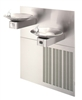H1011.8HO - Haws Sensor Operated Hi-Lo w/ Upper Unit Left Side Satin Finish Stainless Steel