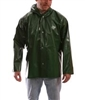 J22168 - Tingley Iron Eagle Green Jacket with Storm Fly Front and Attached Hood - SM
